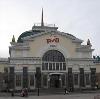 Железнодорожные вокзалы в Бискамже